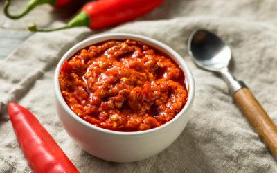 Tomaten-Mandel Mus