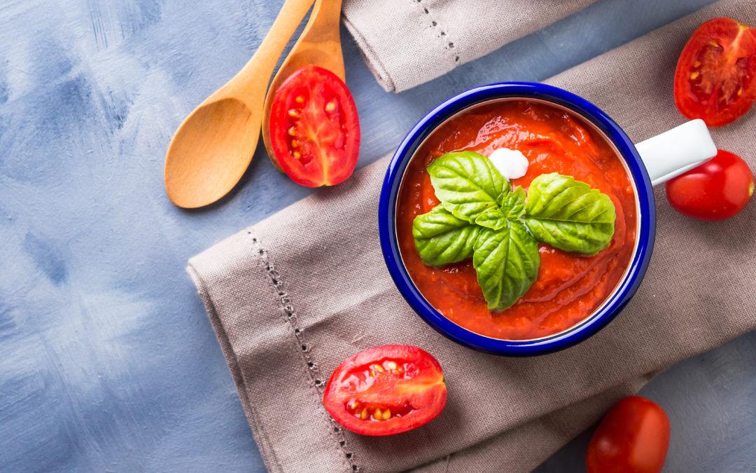 Tomatencremesüppchen